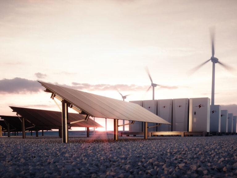 solar wind array